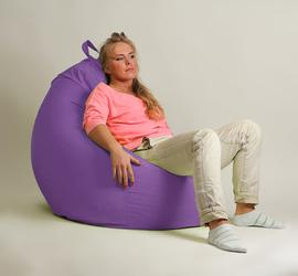 Кресло мешок груша  XXL Стандарт Сирень