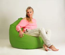Кресло мешок груша Стандарт Салатовая
