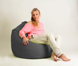 Кресло мешок груша Стандарт Черная