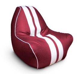 """Кресло мешок """"Ферарри"""" темно-красное"""