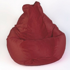 Кресло мешок груша XXL Hawai Bordo