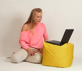 "Кресло мешок ""Пуфик"" Желтый"