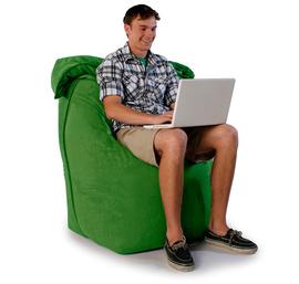 """Кресло мешок """"Трон"""" зеленое"""